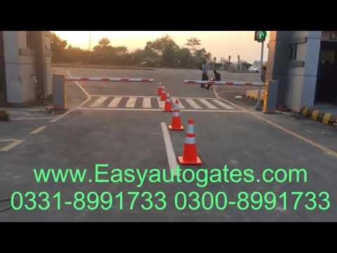Barrier Gate Automation installation service available in all pakistan by easyautogates