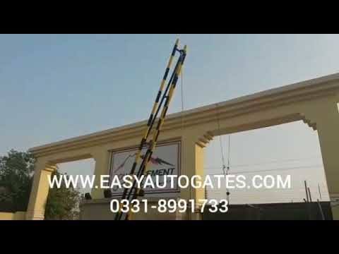 Hydraulic Boom Barrier gate Automation kit installation & Repair Service