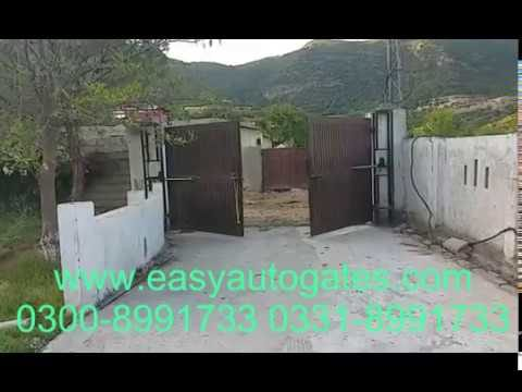 Swing Gate Automation System Installation Service All Pakistan