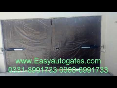 Dual Swing Gate Automation System Installation Service All Pakistan By Easyautogates