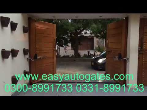 Swing Gate Automatic System motorized remote control kit pakistan
