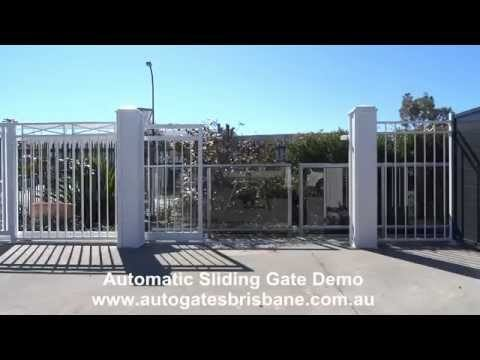 Automatic Sliding Gate Demo