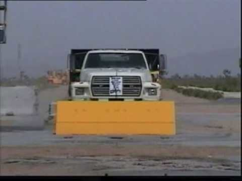 Access Control Road Blocker Crash Test