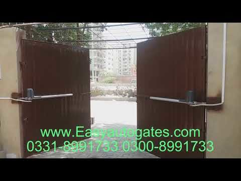 Hydraulic Gate Operator Automatic System Installation Service In Pakistan By Easyautogates