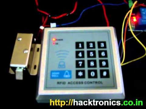 RFID Door Lock Access Control System Demo
